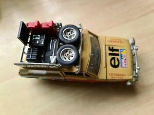 Vehicle Range Rover / Rally Elf Burago 1/25