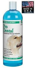 PET Dental Solution 32oz DOG CAT*Clean&FRESHEN BREATH,TEETH-REDUCE PLAQUE&TARTER