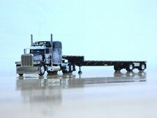 "DCP #33991 ""Open Range"" Peterbilt 389 w/Transcraft Step Deck Trailer 1:64"
