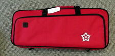 Rosetti Deluxe lightweight Bb trumpet case, red, new