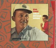 jazz CD album - BING CROSBY - BING SINGS WHILST BREGMAN SWINGS digipack