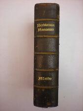 LEGATURA MAROCCHINO BREVIARUM ROMANUM EX DECRETO SS. CONCILII TRIDENTINI 1895
