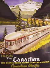 Jigsaw puzzle Train The Canadian Scenic Dome 1000 piece NEW made in the USA