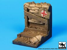 Black Dog 1/35 Wwi Trench Section Vignette / Diorama Base (45mm x 45mm) D35034