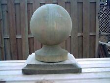 Wooden ball & Colletto finial e base per pali 6ins