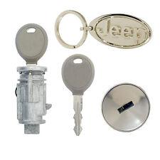 Jeep Commander 2006 2007 Ignition Lock Cylinder with 2 New Transponder Keys OEM