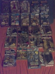 Marvel Toys, Spawn, Top Cow, and Transformers 22 never opened.