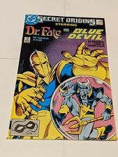 Secret Origins Starring Dr Fate & Blue Devil #24 March 1988 DC Comics