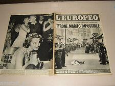 EUROPEO=1955/32=ERIO CODECA=MEMO BENASSI=ELSA MARTINELLI=GIUSEPPE DESSI=