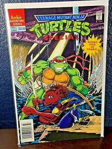 Archie Adventure Series TEENAGE MUTANT NINJA TURTLES #10 NM+ 1994 Comic 9.6 TMNT