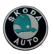SKODA AUTO TOUR DE FRANCE CYCLING SEW/IRON ON PATCH EMBROIDERED