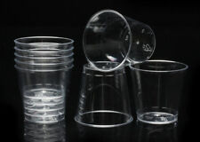 50pcs Clear Plastic Disposable Party Shot Glasses Jelly Cups Tumblers Birthday