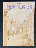 COVER ONLY ~ The New Yorker Magazine, June 9, 1980 ~ Paul Degen