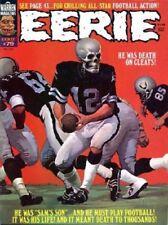 EERIE # 79 ORIGINAL WARREN HORROR POSTER 1970s CLASSIC FOOTBALL COVER