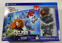 Disney Infinity 2.0 Edition Toy Box Starter Pack PS4 Stitch & Merida Figurines