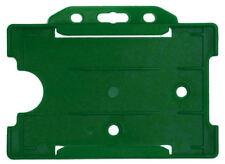Offener Kartenhalter REKO 14, Grün, Polypropylen, für eine Karte