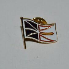 NICE Vintage Nautical Maritime Yacht Flag Metal Enamel Pin Rare MINTY