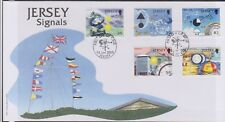 GB - JERSEY 2008 Signal Station Anniversary/Weather Monitoring  SG 1350-1354 FDC
