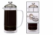 Wholesale Case-Packed Lots, Sonpuro Insulated Glass French Press Coffee Makers