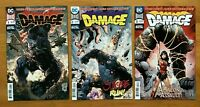 "Damage 1,2,3 2018 Main Covers ""Dark Nights Metal"" 1st Prints DC Comics NM"