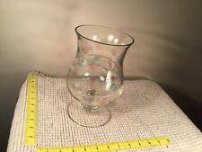 Partylite Jardiniere Hurricane Glass Candleholder Vase Retired P7085 Polka Dot