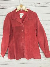 Bagatelle Suede Leather Jacket Womens Large