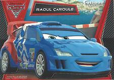 RAOUL CAROULE DISNEY PIXAR CARS 2 FATHEAD TRADEABLES REMOVABLE STICKER 2011