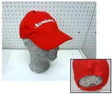 Cappello hat caps hut motosega chainsaws CASTELGARDEN GARDEN ITALIA rosso red