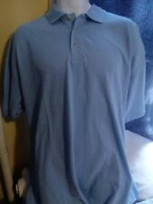 Blue Generation Men's Short Sleeve Polo Shirt, lt blue, size 3XL New w/ Tags NWT