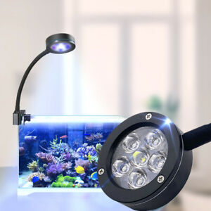 Aquarium Marine LED Clip on Lighting Mini Saltwater Tank Coral Growing lamp