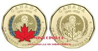 Canada 2020 Special $1 Loonie 75th Ann Signing Of The United Nations Charter Set