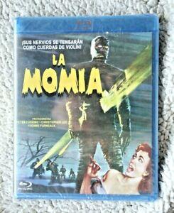 LA MOMIA (ED. COLECCIONISTA) PETER CUSHING, CHRISTOPHER LEE! BLU RAY, BD. NUEVA!