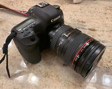 Canon EOS 5D Mark III 22.3MP Digital SLR Camera -with Canon 24-105mm No Reserve!