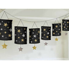 12ft Hollywood Starry Night VIP Party Paper Lantern Garland Decoration