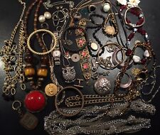 Job Rare Big Lot Bijoux Vintage French Antique Militaire Montre Jewellery X30