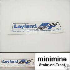 Classic Mini British Leyland ST Especial Tuning del eje de balancín cubierta de adhesivo x1 Austin GT