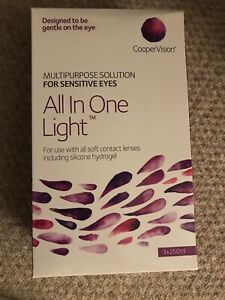 Cooper Vision All in One Light 3 Month Pack for Soft Contact Lens Solution
