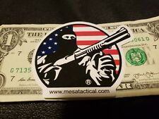 Mesa Tactical Authentic Sticker