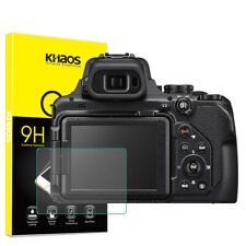 Khaos For Nikon COOLPIX P1000 Digital Camera Tempered Glass Screen Protector