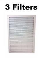 3 Air Purifier Filters for BlueAir 500/600 Series Fits 501 503 550E 601 603 650E