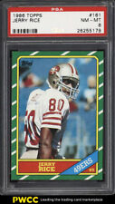 1986 Topps Football Jerry Rice ROOKIE RC #161 PSA 8 NM-MT (PWCC)
