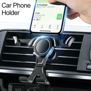 Car Phone Holder Air Vent Mount Universal Gravity Stand Cradle Mobile Phone