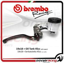 Brembo pompa freno ANT radiale 19X18 forgiata+switch e kit serbatoio olio