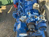 Shibaura or Perkins E673L diesel engine