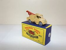 MATCHBOX REG.WHEEL NO.13B BEDFORD WRECK TRUCK GPW R/C AXLES CODE 4