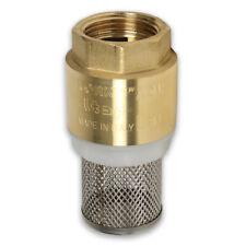 Saugkorb mit Rückschlagventil Filter Schmutzwasser Pumpe Fußventil Ansaugfilter