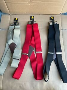 "LOT 3 - Carhartt Utility Suspenders 52""  2"" Wide W/ Adjustable Clips"