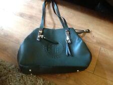 Dark Green Brand New Designer Inspired Large Handbag Never Used