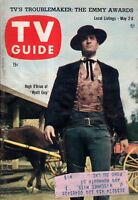 1959 TV Guide May 2 - Hugh O'Brien, Wyatt Earp; Eli Wallach; Barbara Stanwyck