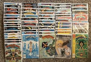Wonder Woman 1987 V2 Lot 1-50 Complete  Run, Some Doubles. Annual 1 and 2.